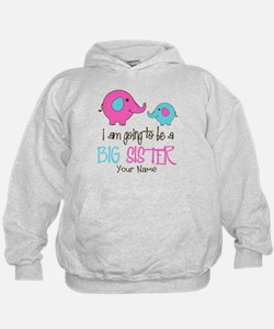 I am Going to be a Big Sister   Elepha Hoodie
