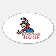 HANDYMAN SERVICES Decal