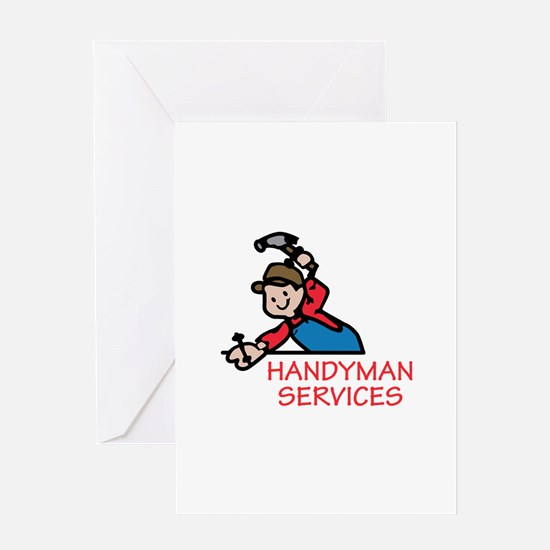 HANDYMAN SERVICES Greeting Cards