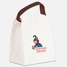 HANDYMAN SERVICES Canvas Lunch Bag