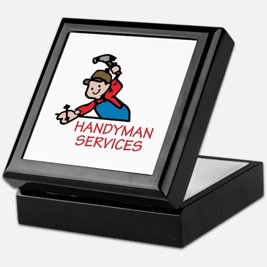 HANDYMAN SERVICES Keepsake Box