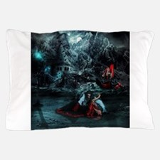 Dawn of the night Pillow Case