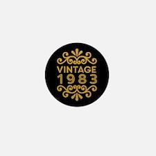 Vintage 1983 Mini Button