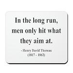 Henry David Thoreau 20 Mousepad