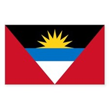 Antigua Barbuda Flag Decal