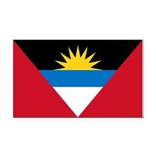 Antigua Barbuda Flag Rectangle Car Magnet