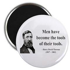 Henry David Thoreau 21 Magnet