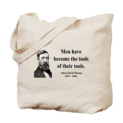 Henry David Thoreau 21 Tote Bag