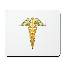 CADUCEUS MEDICAL SYMBOL Mousepad