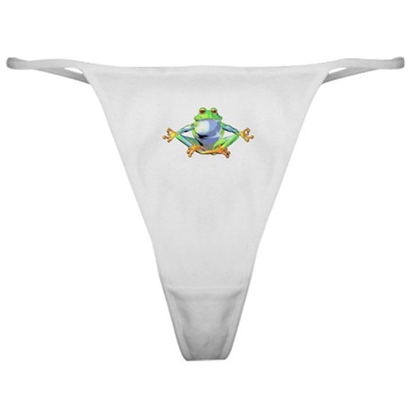 Meditating Frog Classic Thong