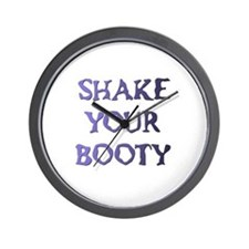SHAKE YOUR BOOTY Wall Clock