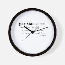Gaysian definition Wall Clock