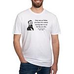 Henry David Thoreau 22 Fitted T-Shirt