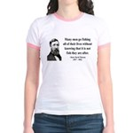 Henry David Thoreau 22 Jr. Ringer T-Shirt
