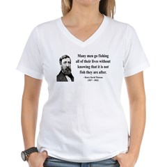 Henry David Thoreau 22 Shirt