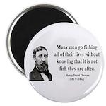 Henry David Thoreau 22 Magnet