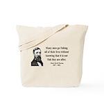 Henry David Thoreau 22 Tote Bag