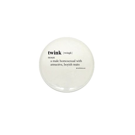 Twink definition Mini Button (100 pack)