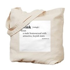 Twink definition Tote Bag