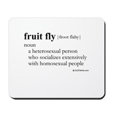 Fruit fly definition Mousepad