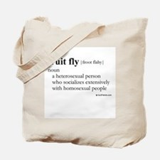Fruit fly definition Tote Bag