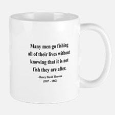 Henry David Thoreau 22 Mug