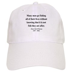Henry David Thoreau 22 Baseball Cap