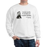 Henry David Thoreau 23 Sweatshirt
