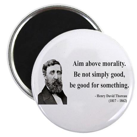 Henry David Thoreau 23 Magnet