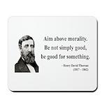 Henry David Thoreau 23 Mousepad