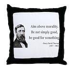 Henry David Thoreau 23 Throw Pillow