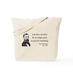 Henry David Thoreau 23 Tote Bag