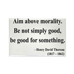 Henry David Thoreau 23 Rectangle Magnet (100 pack)