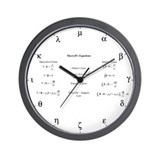 Physics Wall Clocks