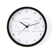 Maxwell's equations Wall Clock