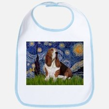 Starry Night Basset Bib