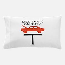 MECHANIC ON DUTY Pillow Case