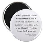 Henry David Thoreau 24 Magnet