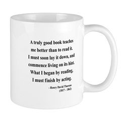 Henry David Thoreau 24 Mug