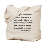 Henry David Thoreau 24 Tote Bag