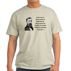 Henry David Thoreau 25 Light T-Shirt
