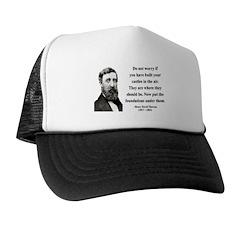 Henry David Thoreau 25 Trucker Hat