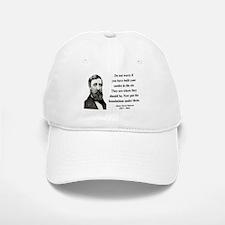 Henry David Thoreau 25 Baseball Baseball Cap