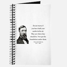 Henry David Thoreau 25 Journal