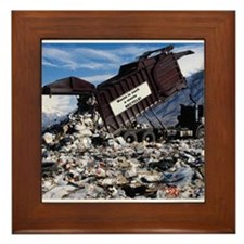 Recycle it. Framed Tile