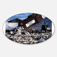 Recycle it. Oval Decal