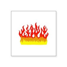 FIRE FLAMES Sticker