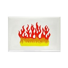 FIRE FLAMES Magnets