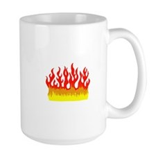 FIRE FLAMES Mugs
