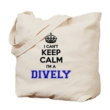 Cute Calm dive Tote Bag